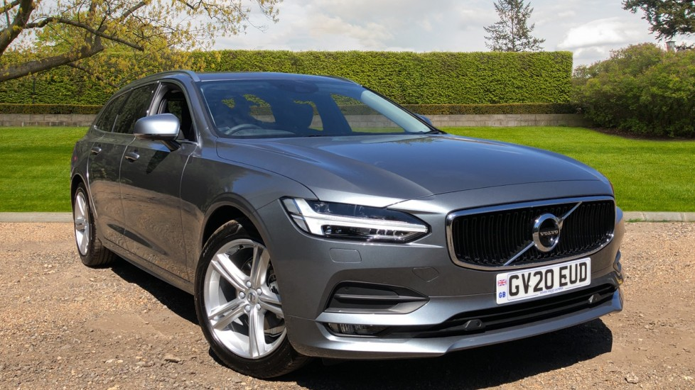 Volvo V90 T4 Momentum Plus Auto, Winter Pack, Heated Screen, Blind Spot Information System, 360 Camera 2.0 Automatic 5 door Estate (2020)