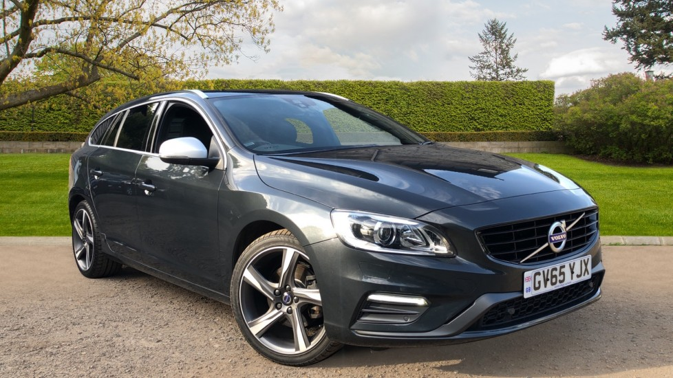 Volvo V60 D4 R Design Lux Nav Auto, Winter Pack, Heated Screen, Front & Rear Park Sensors, Privacy Glass 2.0 Diesel Automatic 5 door Estate (2015)