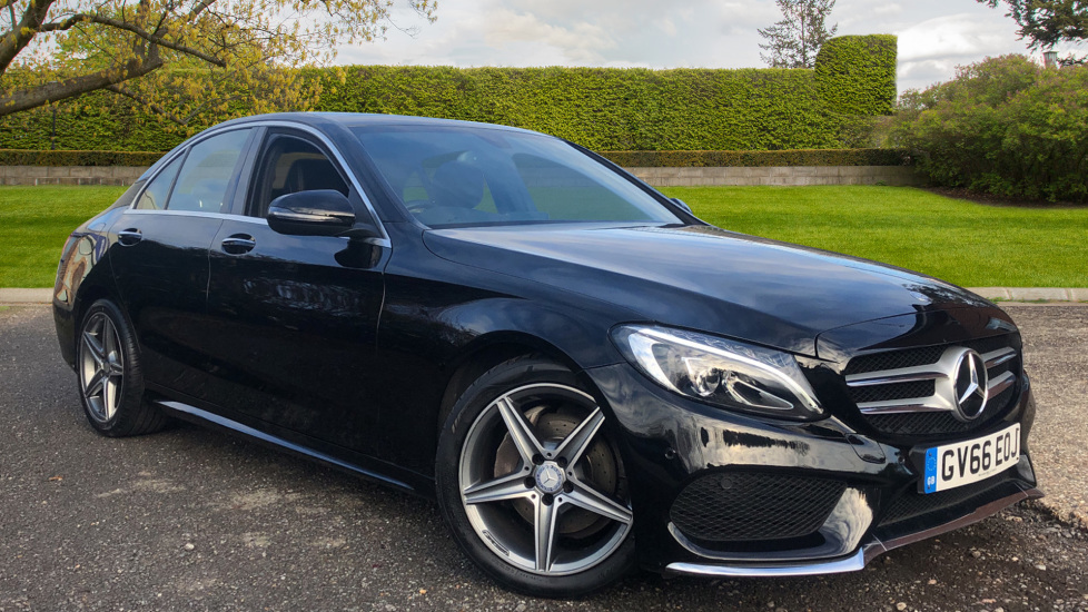 Mercedes-Benz C-Class Saloon C220d AMG Line Premium Pk, Auto, Panoramic Glass Roof, Heated, Powered Front Seats 2.1 Diesel Automatic 4 door Saloon (2016) at Volvo Horsham thumbnail image