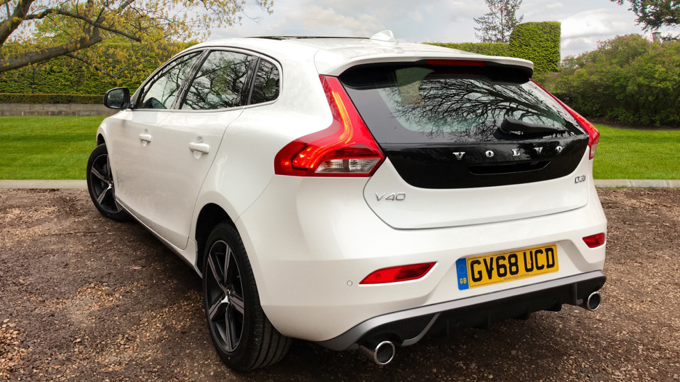 Volvo V40 D3 R Design Nav Plus with Xenium & Winter Pack, Panoramic Roof &  Heated Seats  2 0 Diesel 5 door Hatchback (2018) available from Volvo