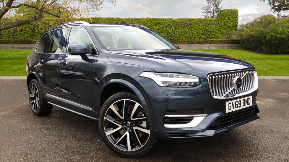 Volvo XC90 T8 Hybrid Inscription Pro AWD Auto, Xenium Pack, Bowers & Wilkins Audio, BLIS, 21 Inch Alloys 2.0 Petrol/Electric Automatic 5 door 4x4 (2020) image