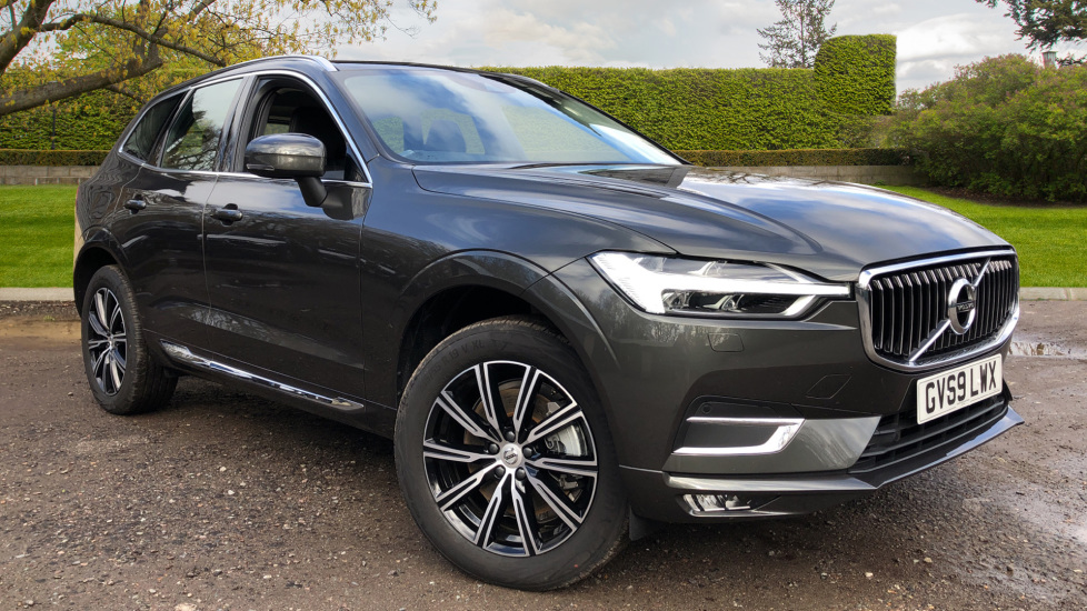 Volvo XC60 B4D Mild Hybrid Inscription AWD Auto, Winter & Convenience Pack, Rear Parking Camera 2.0 Diesel/Electric Automatic 5 door 4x4 (2020) at Volvo Gatwick thumbnail image