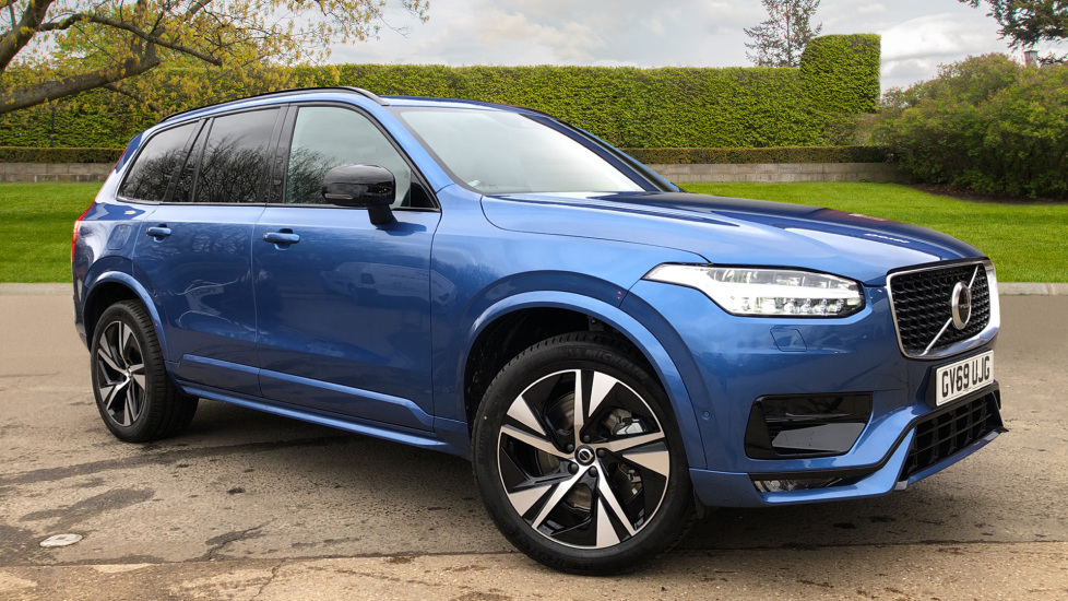 Volvo XC90 B5D Mild Hybrid R Design AWD AT, Xenium & Winter Pks, Htd Screen, 360Cam, PanoRoof, BLIS 2.0 Diesel/Electric Automatic 5 door 4x4 (2020) at Volvo Gatwick thumbnail image