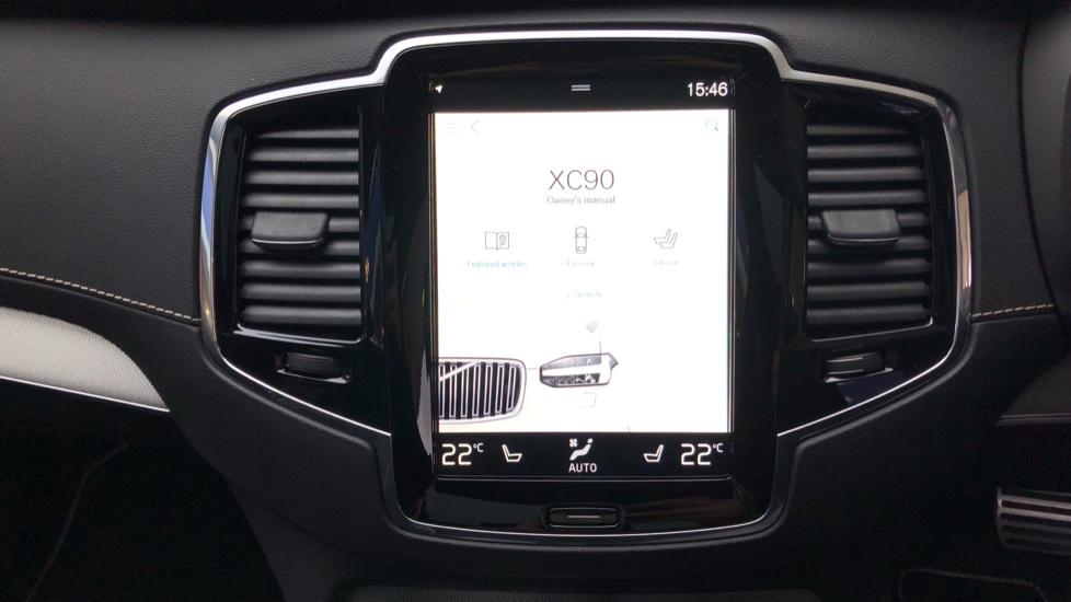 Volvo XC90 B5D Mild Hybrid R Design AWD AT, Xenium & Winter Pks, Htd Screen, 360Cam, PanoRoof, BLIS image 19