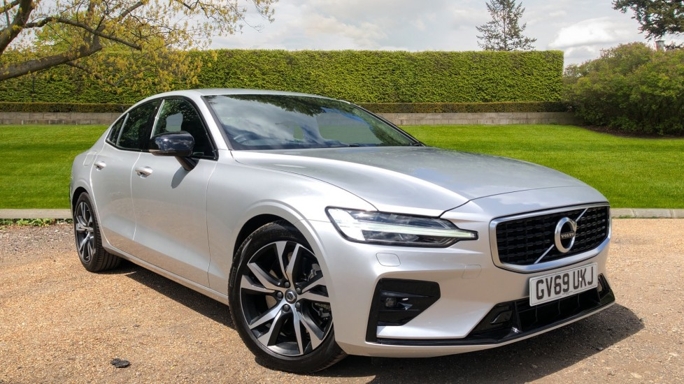 Volvo S60 T5 R Design Plus Auto, Winter Pack, Active Bending Headlights, Nav, F & R Sensors 2.0 Automatic 4 door Saloon (2020) image