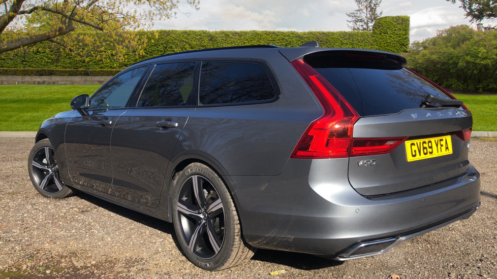Volvo V90 T4 R Design Plus Auto, Winter Pack, Head Up Display, Active Bend Lights, 360 Camera, BLIS image 4
