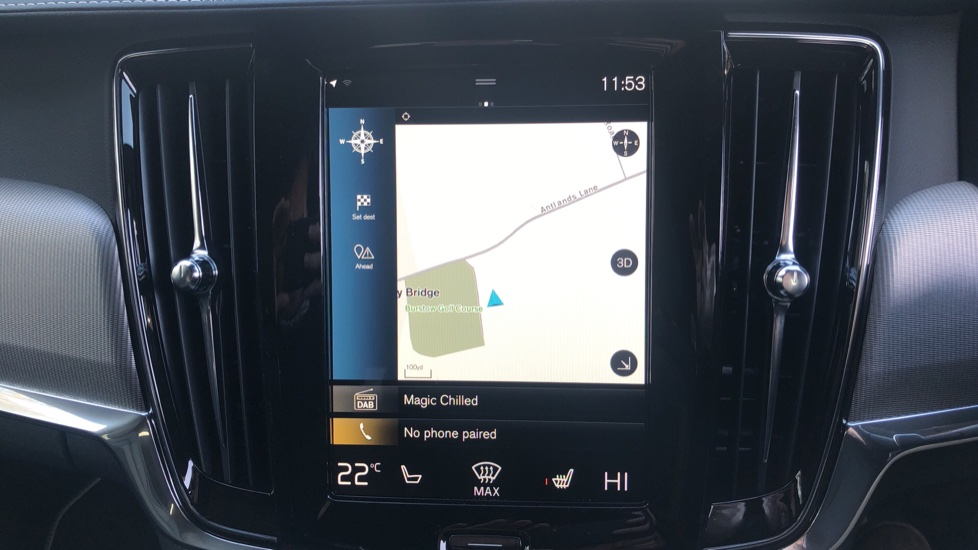 Volvo V90 T4 R Design Plus Auto, Winter Pack, Head Up Display, Active Bend Lights, 360 Camera, BLIS image 5