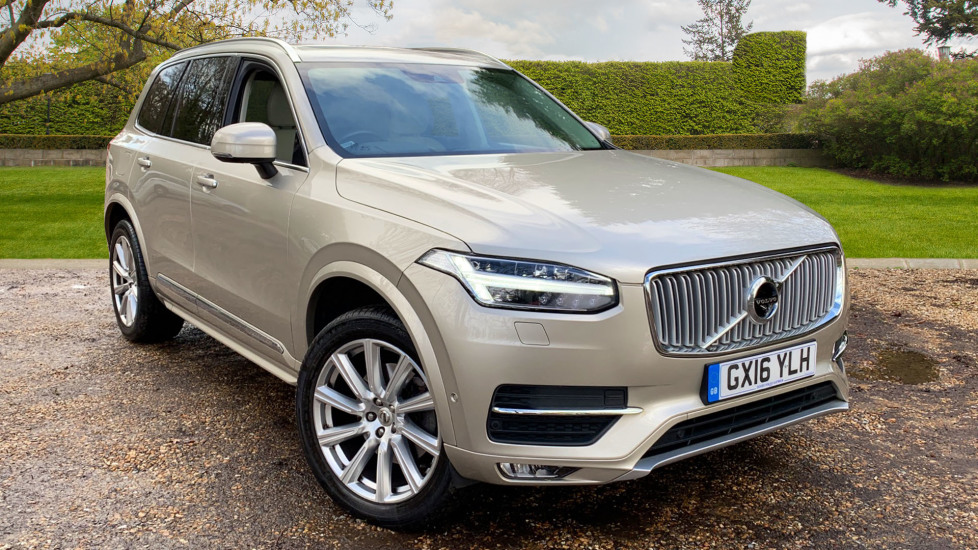 Volvo XC90 2.0 T6 Inscription AWD Auto With. Xenium Pack, Winter Pack, Bowers & Wilkins Audio Automatic 5 door Estate (2016) image