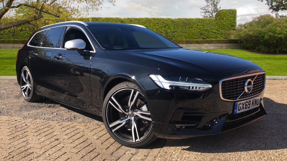 Volvo V90 2.0 T4 R Design Pro Auto with Smartphone Integration, 360 Surround Camera & BLIS. Automatic 5 door Estate (2019)