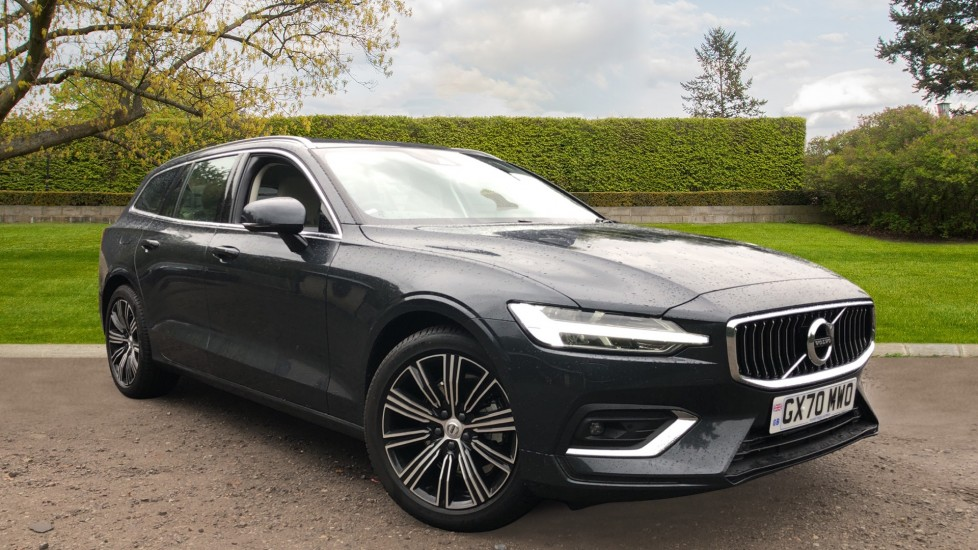 Volvo V60 T4 Inscription Plus Auto, Nav, Winter Pack, Rear Camera, Heated Screen, Active Bending Lights, DAB 2.0 Automatic 5 door Estate (2020)