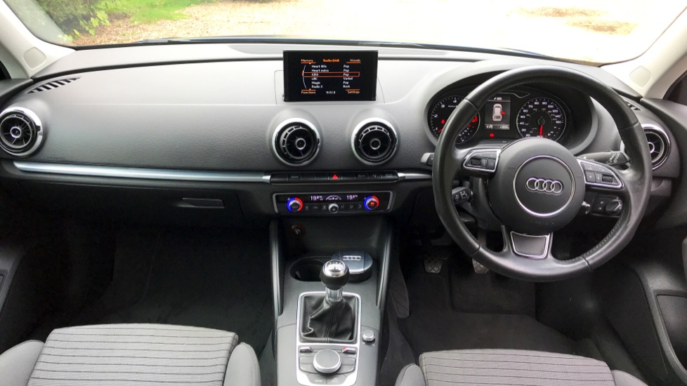 Audi A3 1 6 TDI Sport with Cruise Control, Hill start Assist and Sports  Suspension Diesel 5 door Hatchback (2016) at Mazda Northampton Motors