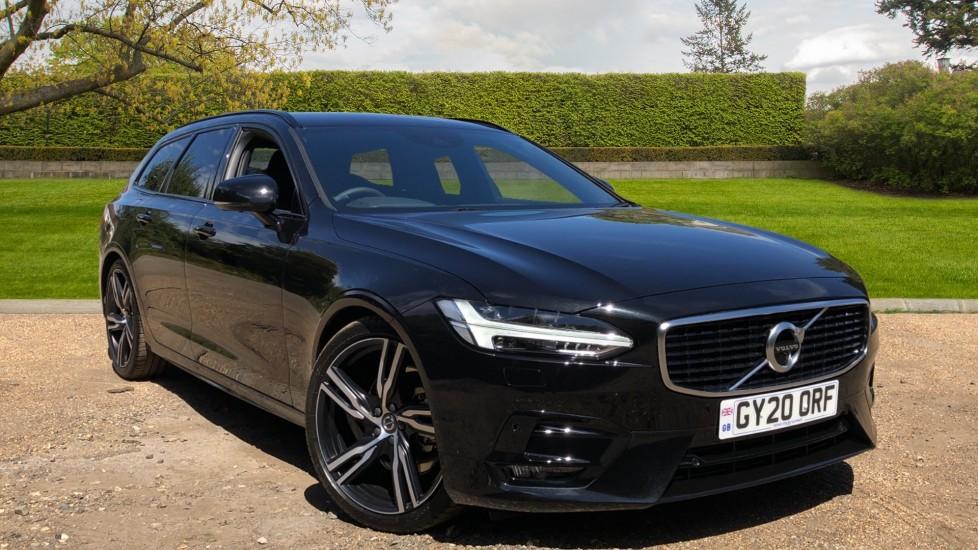 Volvo V90 T4 R Design Plus Auto, Winter Pack, Heated Screen, 360 Camera, Harman Kardon Audio, BLIS 2.0 Automatic 5 door Estate (2020) at Volvo Gatwick thumbnail image