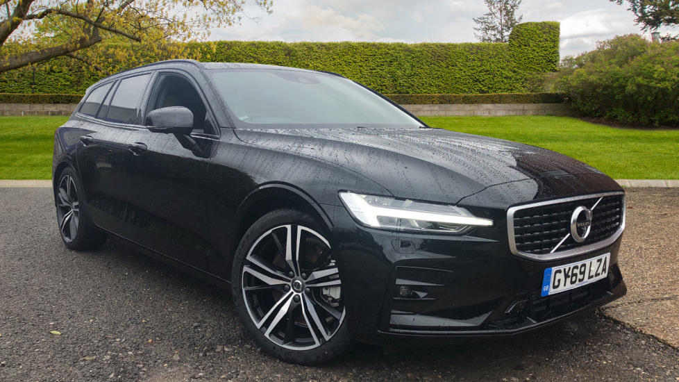 Volvo V60 2.0 T5 R Design Pro Auto, Intellisafe Pro, Harman Kardon, S/Phone Int, 360 Cam, Convenience Pk  Automatic 5 door Estate (2020) available from Jaguar Hatfield thumbnail image