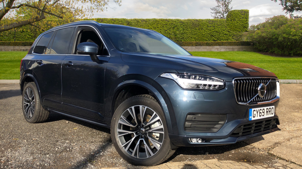 Volvo XC90 2.0 B5D Mild Hybrid Momentum AWD AT, Winter & 7 Seat Comfort Pks, BLIS, Tints Diesel/Electric Automatic 5 door 4x4 (2020) at Volvo Horsham thumbnail image