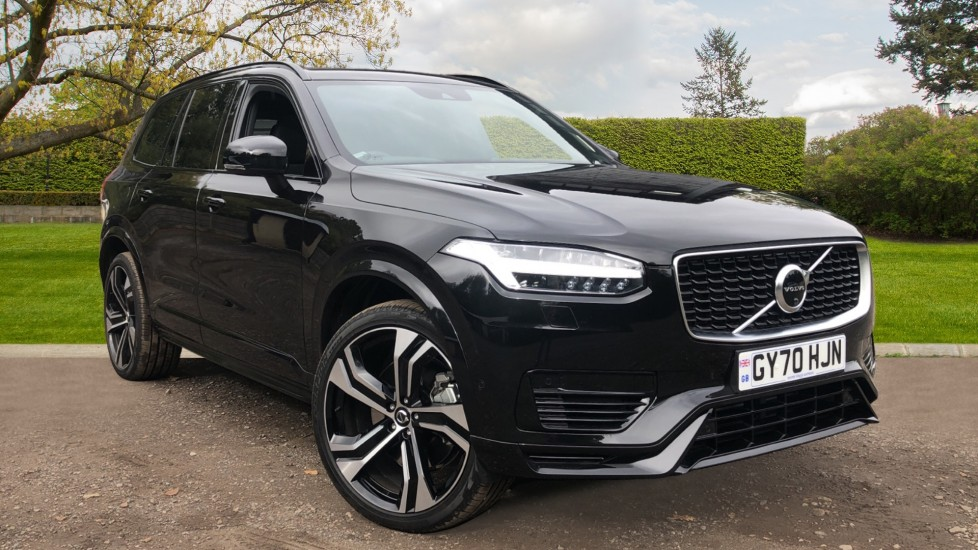 Volvo XC90 T8 Hybrid R Design Pro AWD Auto, Xenium & Family Packs, B & W Audio, Heated Screen & Rear Seats 2.0 Petrol/Electric Automatic 5 door 4x4 (2020) at Volvo Gatwick thumbnail image