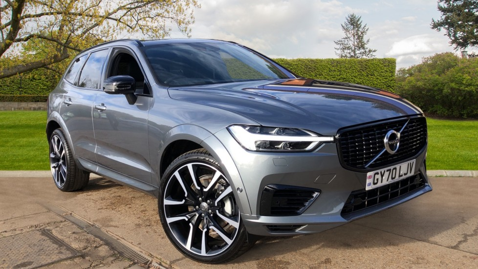 Volvo XC60 T8 Recharge PHEV R Design Pro AWD Auto, Lounge, Tech & Driver Assist Packs, Sunroof, 360 Camera 2.0 Petrol/Electric Automatic 5 door 4x4 (2021)