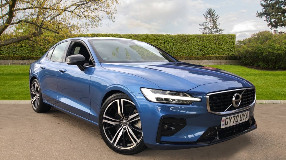 Volvo S60 T5 R Design Plus Auto, Xenium, Winter & Convenience Packs, Sunroof, 360 Camera, Harman Kardon 2.0 Automatic 4 door Saloon (2020)