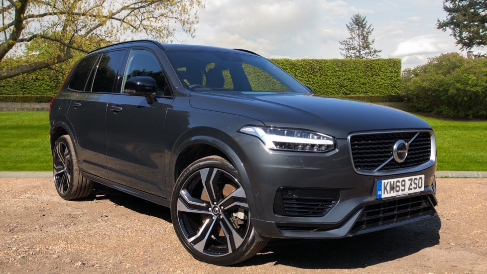 Volvo XC90 T8 Hybrid R Design Pro AWD Auto, Xenium Pack, Sunroof, 360 Camera, BLIS, CarPlay, DAB Radio 2.0 Petrol/Electric Automatic 5 door 4x4 (2019) available from Jaguar Swindon thumbnail image