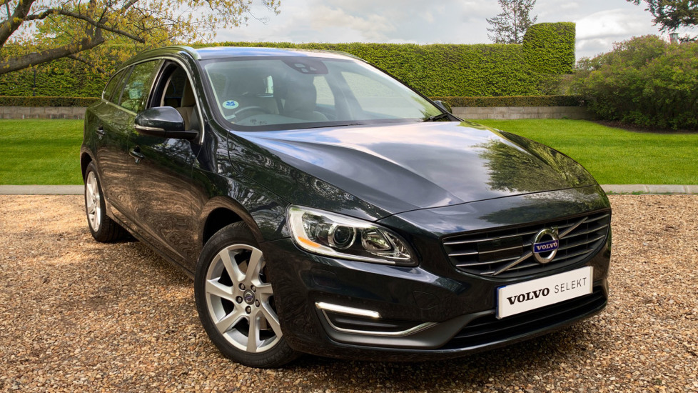Volvo V60 D5 SE Lux Nav Auto W. Driver Support Pack, Winter Pack & Family Pack 2.4 Diesel Automatic 5 door Estate (2014) image