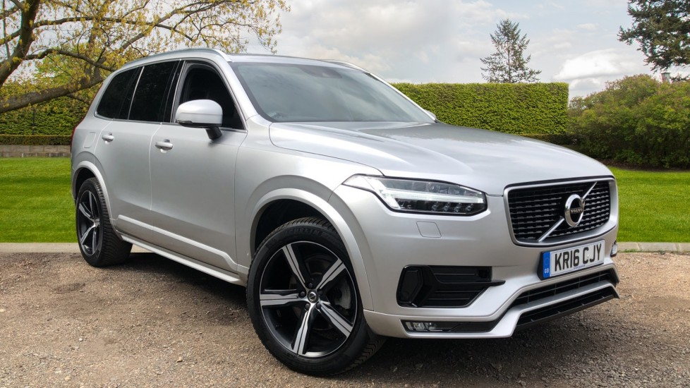 Volvo XC90 D5 AWD R Design Auto, Family & Winter Packs, Heated Screen, Booster Seat, Nav, Active Bending Lights 2.0 Diesel Automatic 5 door 4x4 (2016)