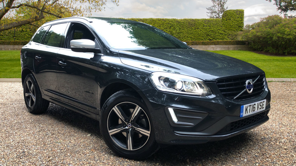 Volvo XC60 D4 R Design Lux Nav AWD Auto with Winter Pack, Active Bending Lights & Rear Park Assist. 2.4 Diesel Automatic 5 door Estate (2016) image
