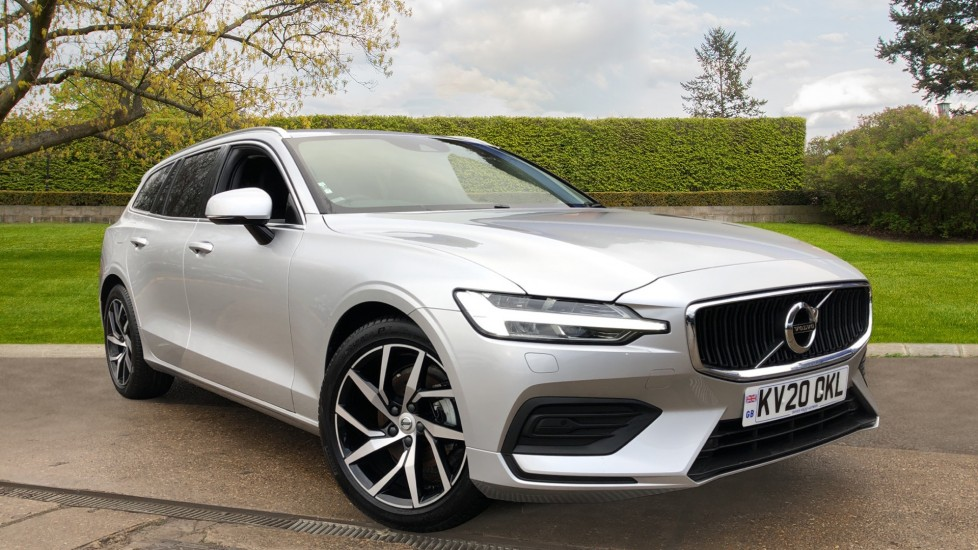 Volvo V60 T4 Momentum Plus Auto, Convenience & Winter Packs, Intellisafe Pro, Smartphone Integration 2.0 Automatic 5 door Estate (2020) available from Volvo Horsham thumbnail image