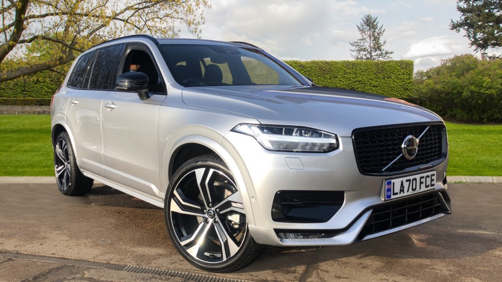 Volvo XC90 T8 Recharge PHEV R Design Pro AWD Auto, Lounge, Climate & Driver Assist Packs, Sunroof, B & W image 1