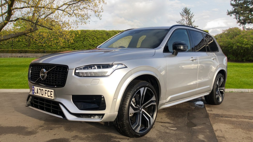 Volvo XC90 T8 Recharge PHEV R Design Pro AWD Auto, Lounge, Climate & Driver Assist Packs, Sunroof, B & W image 9