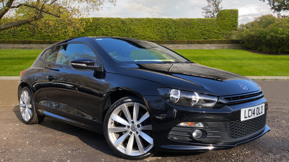 Volkswagen Scirocco 2.0 TDI 177 R Line 3dr DSG Auto, Nav, Heat insulating Glass, 4Gb Hard Drive, R.Sensors Diesel Automatic Coupe (2014)