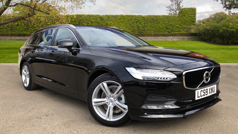Volvo V90 D4 Momentum AT, Winter Pk, Rr Camera, Apple CarPlay, Adaptive Cruise & Lane Keeping Aid 2.0 Diesel Automatic 5 door Estate (2019)