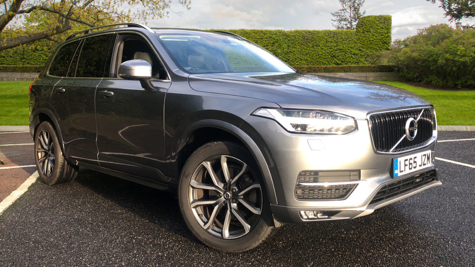 Volvo XC90 2.0 D5 Momentum AWD Auto, Winter & Family Pks, Integrated Booster Seat, R.Camera Diesel Automatic 5 door 4x4 (2015) image