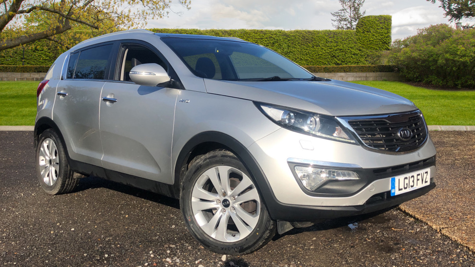 Kia Sportage 2.0 CRDi KX-3 Auto with Rear Park Assist Sensors, 18 Inch Alloys & Electric Sunroof, USB Ports Diesel Automatic 5 door 4x4 (2013) image