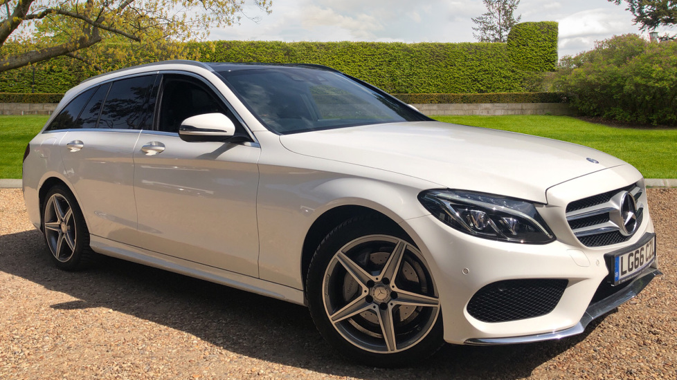 Mercedes-Benz C-Class Estate C220d AMG Line Premium Auto Estate with Airmatic Suspension, Intelligent Lights and Pano Roof. 2.1 Diesel Automatic 5 door (2016)