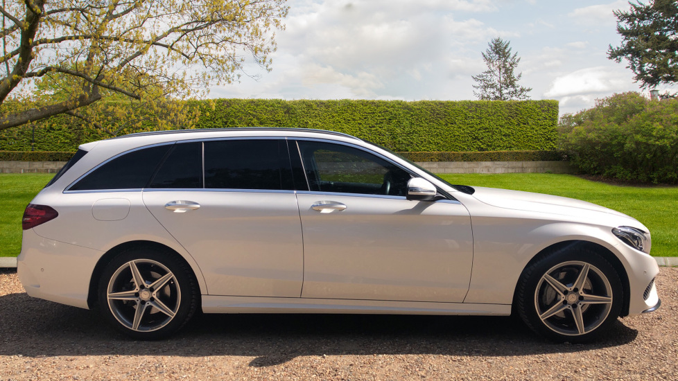 Mercedes-Benz C-Class Estate C220d AMG Line Premium Auto Estate with  Airmatic Suspension, Intelligent Lights and Pano Roof  2 1 Diesel Automatic  5