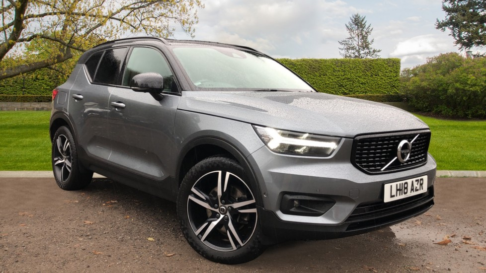 Volvo XC40 T5 First Edition AWD Auto, Launch Model, Nav, Sunroof, 360 Camera, HK Audio, Heated Seats 2.0 Automatic 5 door 4x4 (2018) available from Land Rover Swindon thumbnail image