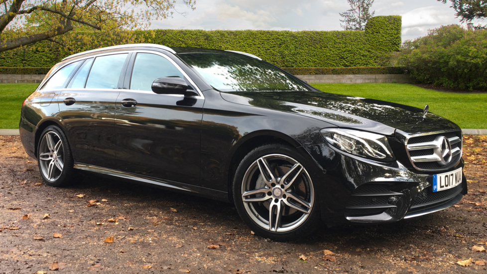 Mercedes-Benz E-Class E220d AMG Line 5dr Estate 9G Tronic Auto, AMG Styling Kit, 19 2.0 Diesel Automatic (2017) image
