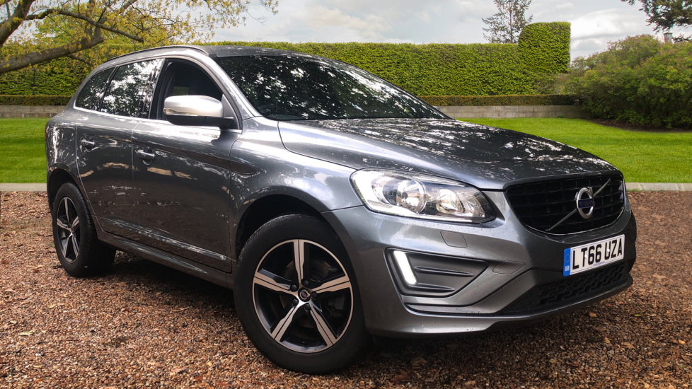 Volvo XC60 D4 R Design Nav Auto, Winter Pk, Heated Screen & Seats, Rr Sensors, Tempa Spare Wheel. 2.0 Diesel Automatic 5 door Estate (2016) image