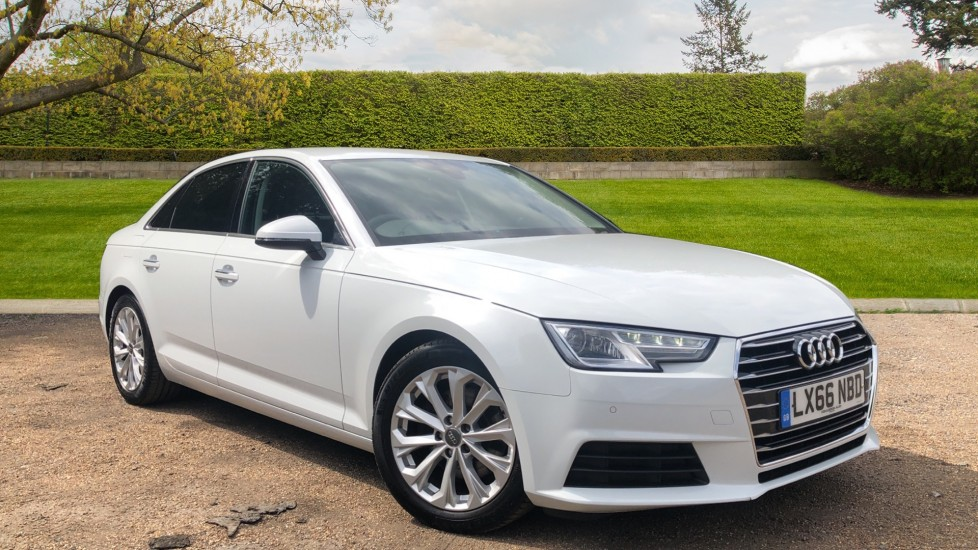 Audi A4 2.0 TDI S Line 4dr Auto, Rear Camera, Privacy Glass, Heated Front Seats, CarPlay & Android Auto Diesel Saloon (2016)