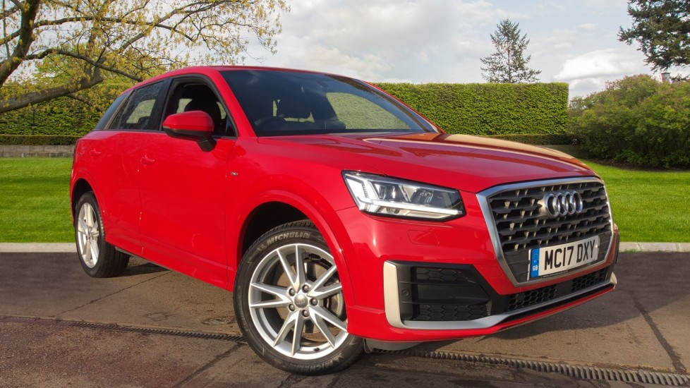 Audi Q2 1.4 TFSI S Line 5dr Manual, Nav, Heated Seats, Bluetooth, CarPlay, Front & Rear Park Estate (2017) available from Land Rover Hatfield thumbnail image