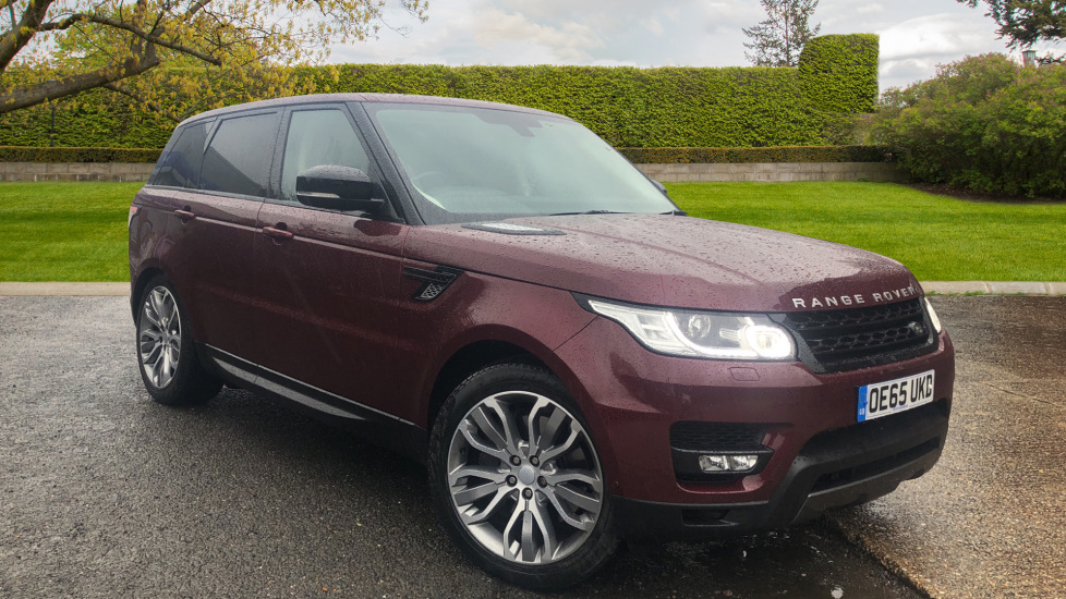 Land Rover Range Rover Sport 3.0 SDV6 HSE Dynamic Auto, Stealth Pack/Heated & Cooled F.Seats/Towbar/Auto Parking & 360 Cam Diesel Automatic 5 door 4x4 (2015) image