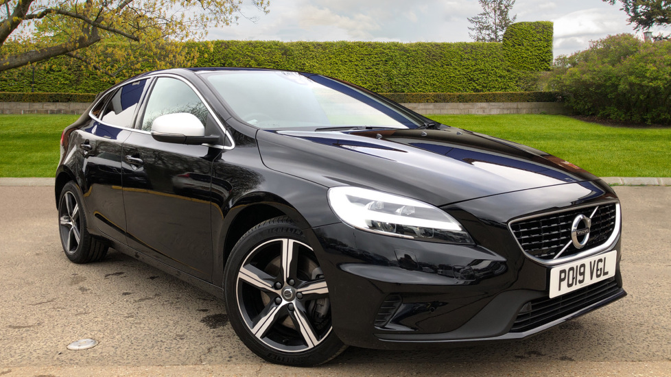 Volvo V40 T3 R Design Edition AT, Nav, F & R Sensors, Active Bend H.Lights, DVD, DAB, R.Camera 1.5 Automatic 5 door Hatchback (2019)