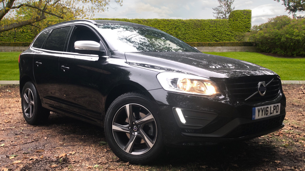Volvo XC60 D4 R Design Nav Auto, Winter Pk, Heated Screen, Sensus Connect & Privacy Glass. 2.0 Diesel Automatic 5 door Estate (2016) available from Volvo Croydon thumbnail image