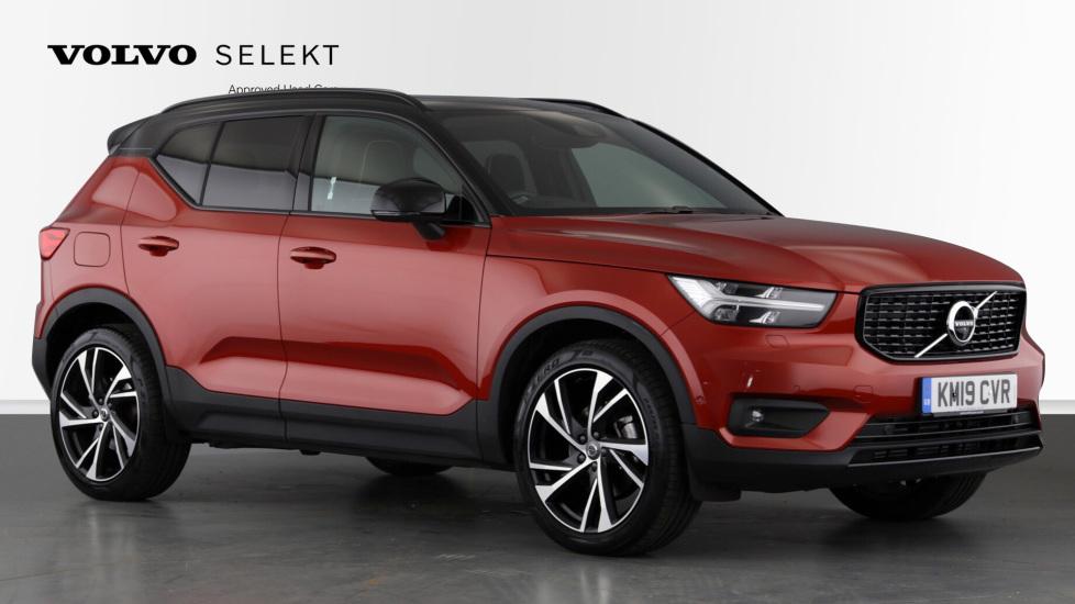 Volvo XC40 2.0 D4 R Design Pro AWD, Xenium, IntellisafePro, S/Phone & Convenience Packs, Keyless Drive Diesel Automatic 5 door Estate (2019) image