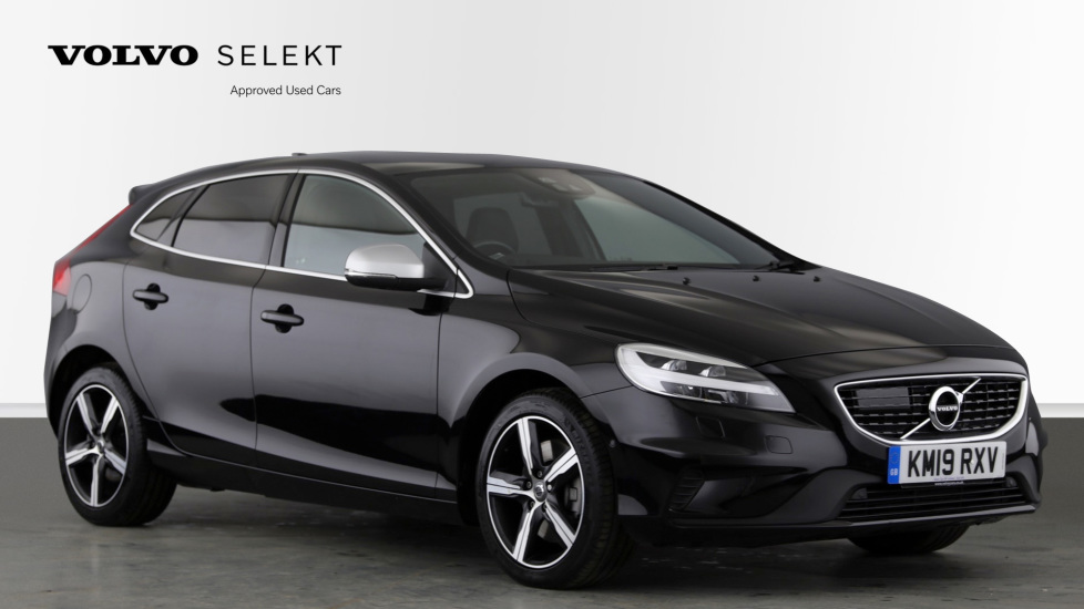 Volvo V40 D3 R Design Pro Edition AT, Winter & Xenium Pk, Intelli.Pro, Bending H.Lights, F & R Htd. Seats 2.0 Diesel Automatic 5 door Hatchback (2019) at Volvo Horsham thumbnail image