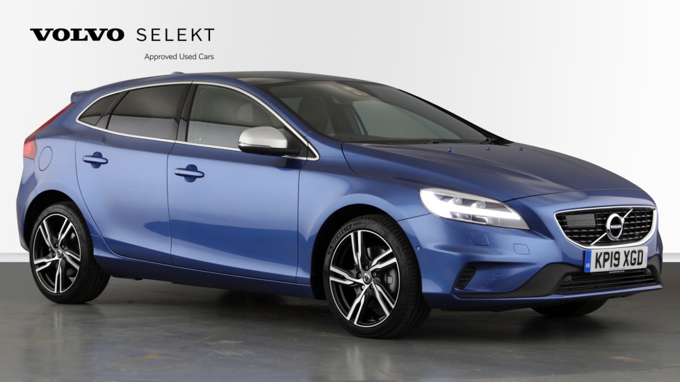 Volvo V40 T3 R Design Edition Auto, Heated Screen, Panoramic Roof, Adaptive Cruise & Bending Lights. 1.5 Automatic 5 door Hatchback (2019)