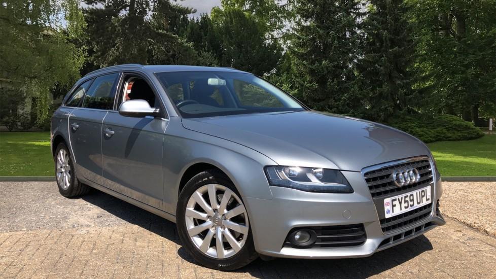 Audi A4 2.0 TDI 143 SE 5dr Auto with Rear Park Sensors, Cruise Control, Audi Symphony Radio Diesel Automatic Estate (2009)