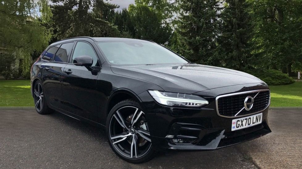 Volvo V90 T4 R Design Plus Auto, Winter Pack, Harman Kardon, BLIS, 20in Alloys, 360 Camera, 3 Pin Socket 2.0 Automatic 5 door Estate (2020)