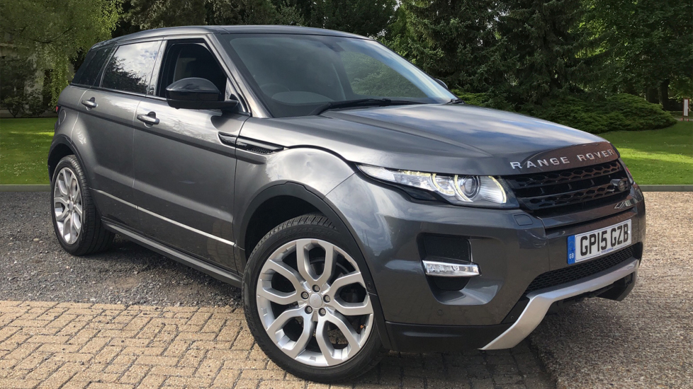Land Rover Range Rover Evoque Si4 Dynamic AT with Lux Pk, NAV, RevCam, F & R Sensors, PanoRoof & Meridian Audio. 2.0 Automatic 5 door Hatchback (2015)