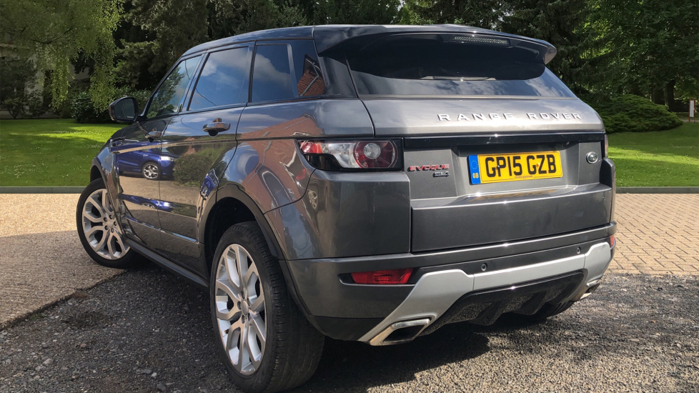 Land Rover Range Rover Evoque Si4 Dynamic AT with Lux Pk, NAV, RevCam, F &  R Sensors, PanoRoof & Meridian Audio  2 0 Automatic 5 door Hatchback (2015)