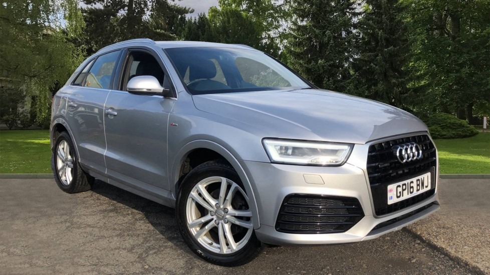 Audi Q3 2.0T FSI Quattro S Line Navigation Auto, Rear Sensors, Audi Parking Plus System, DAB Radio Automatic 5 door 4x4 (2016) available from County Motor Works Vauxhall thumbnail image